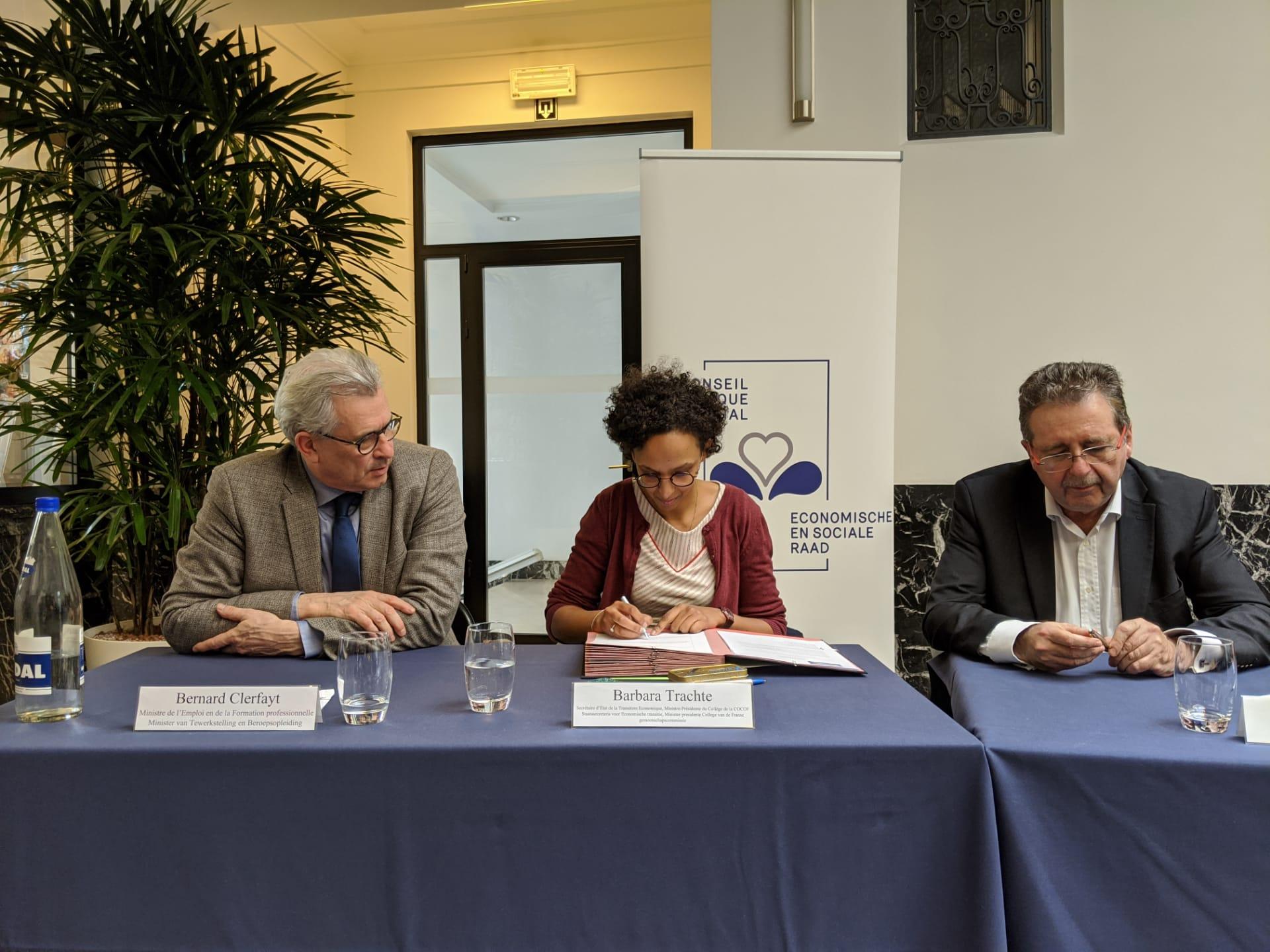 Un accord-cadre avec le secteur ICT a été conclu en Région bruxelloise