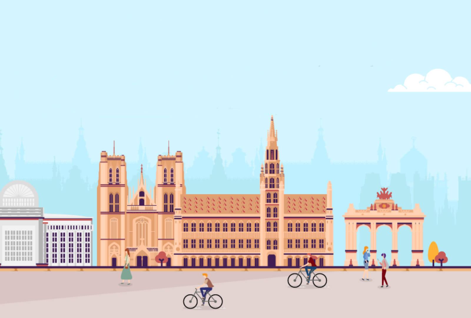 Bruxelles s'associe à la fondation Bloomberg Philanthropies pour offrir un air plus pur à ses habitants