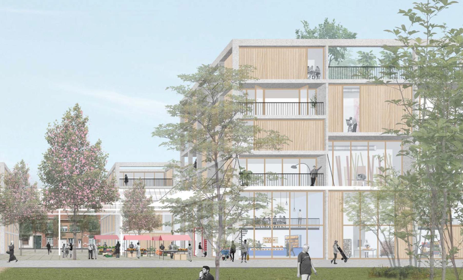 Lioncity: un nouvel avenir pour l'ancien site de Delhaize à Molenbeek