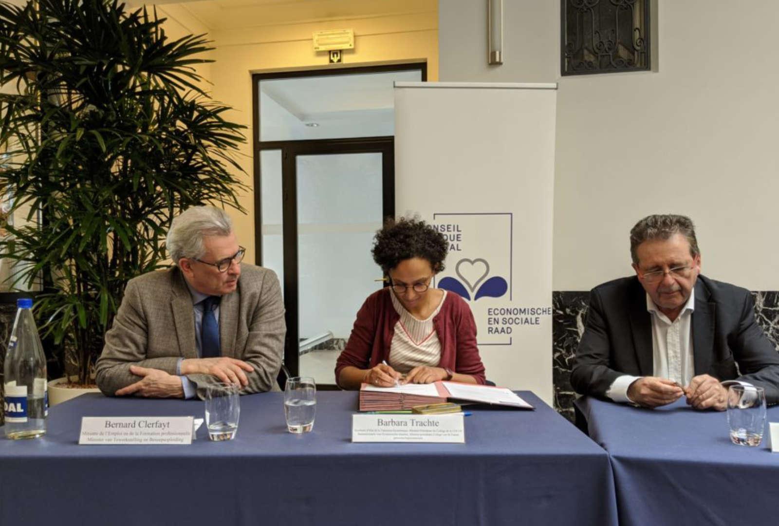 Er werd een kaderakkoord met de ict-sector in het Brussels Gewest gesloten